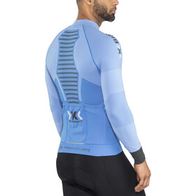 X-Bionic Race Evo Biking LS Jersey Men, marina blue/anthracite
